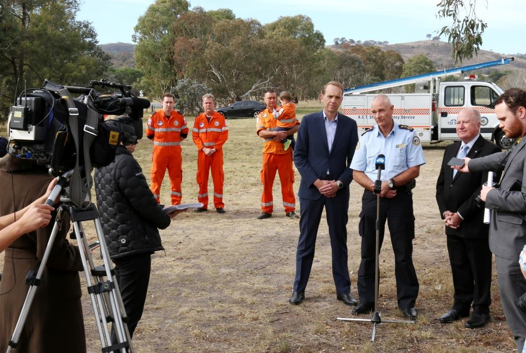 Launch of the Proposed SES Station in Calwell