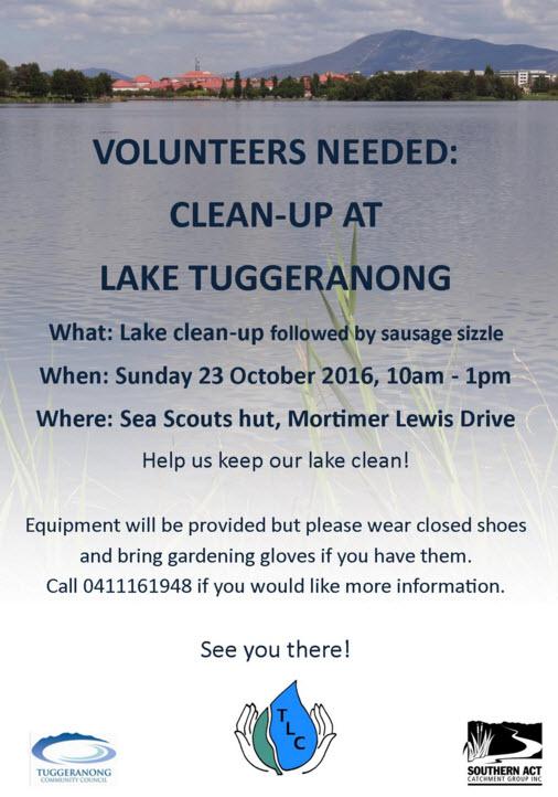 Spring Lake Cleanup –
