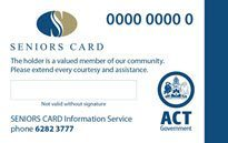 Concession travel in NSW for ACT Seniors