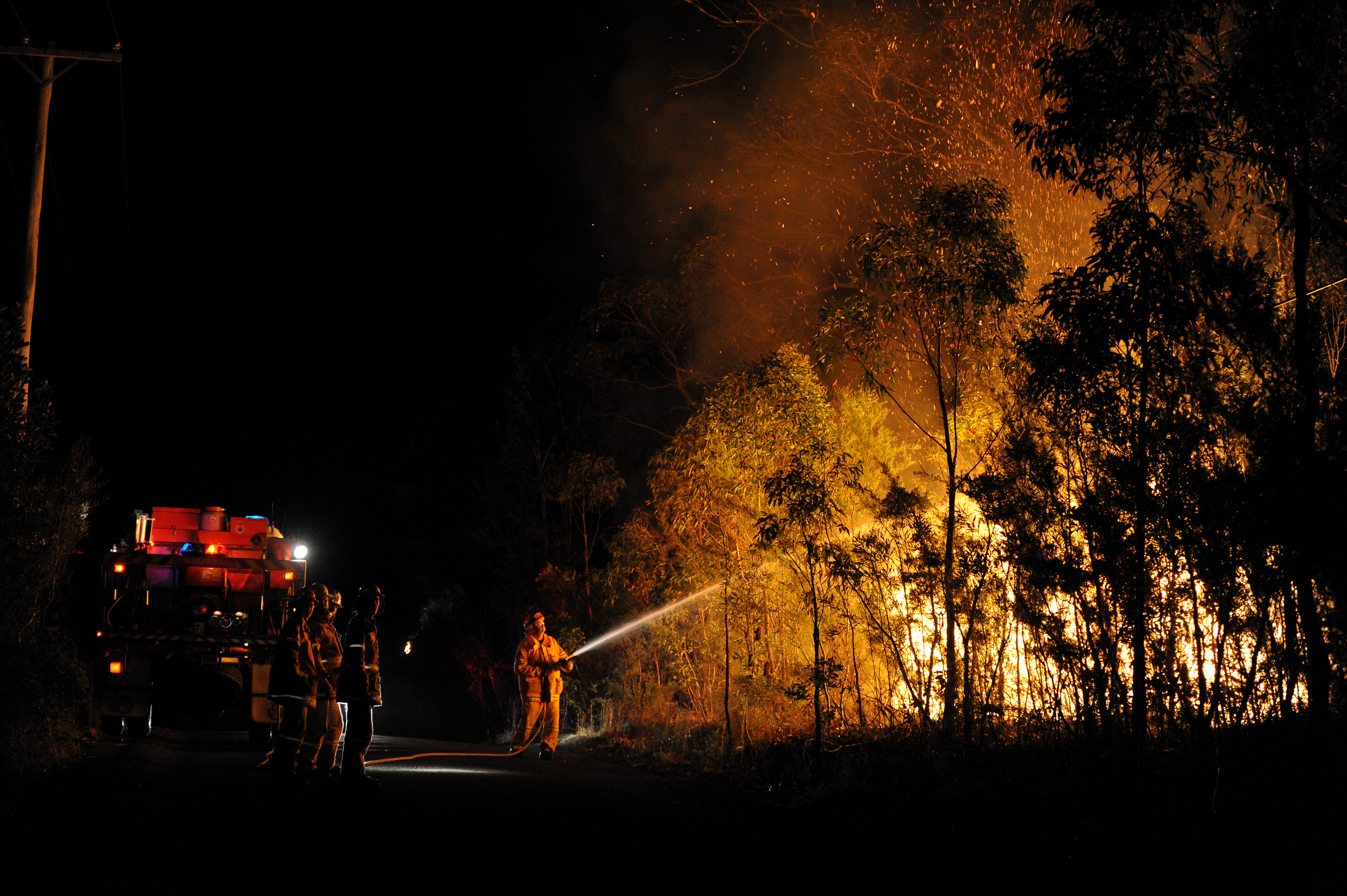 NSW fire monitoring around the ACT