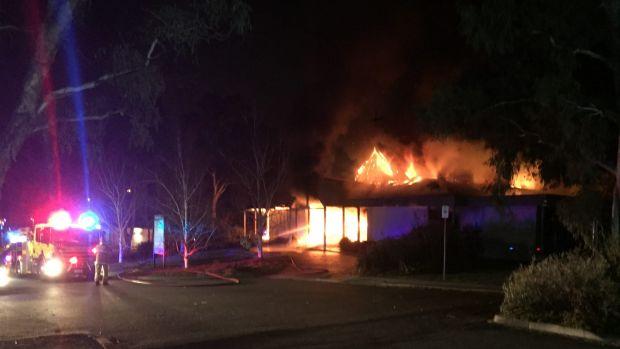Tuggeranong Baptist Church Fire