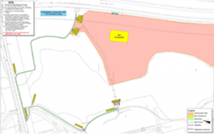 Temporary Closure of shared path between Drakeford Drive and Underpass