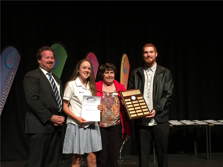 Tuggeranong Community Council Award winners 2017