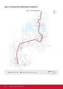 Tuggeranong Submission to Civic to Woden Light Rail Route