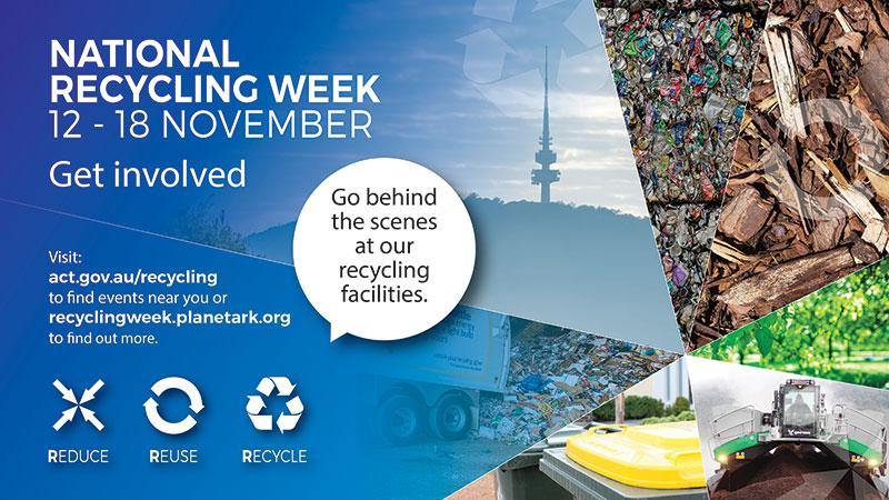 National Recycling Week – 12 to 18 November