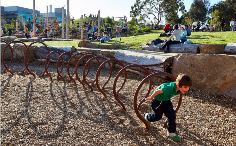 Playground Upgrades for Tuggeranong as a Result of the Play Spaces Forum